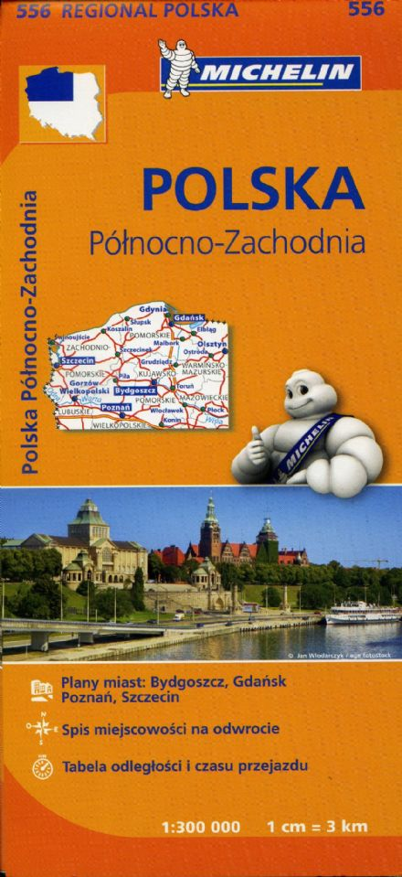 Poland North West - Michelin Map 556